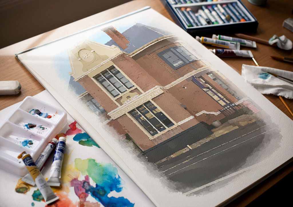 front-watercolours
